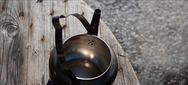 Hällmarks 1,5 liters kaffepanna invändigt
