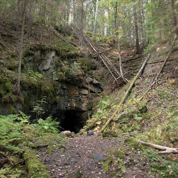 Ingången till Morfars ort