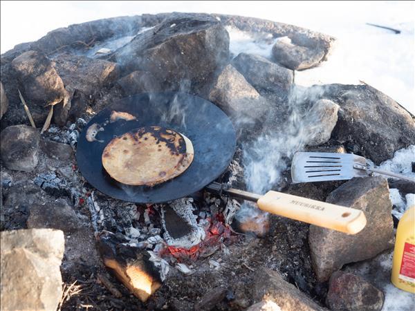 Tortilla med tonfiskfyllning