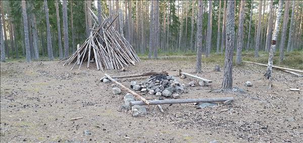 Grillplats Vallhovsskogen