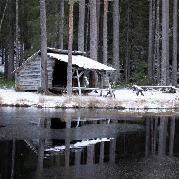 Vindskyddet vid Morfars ort